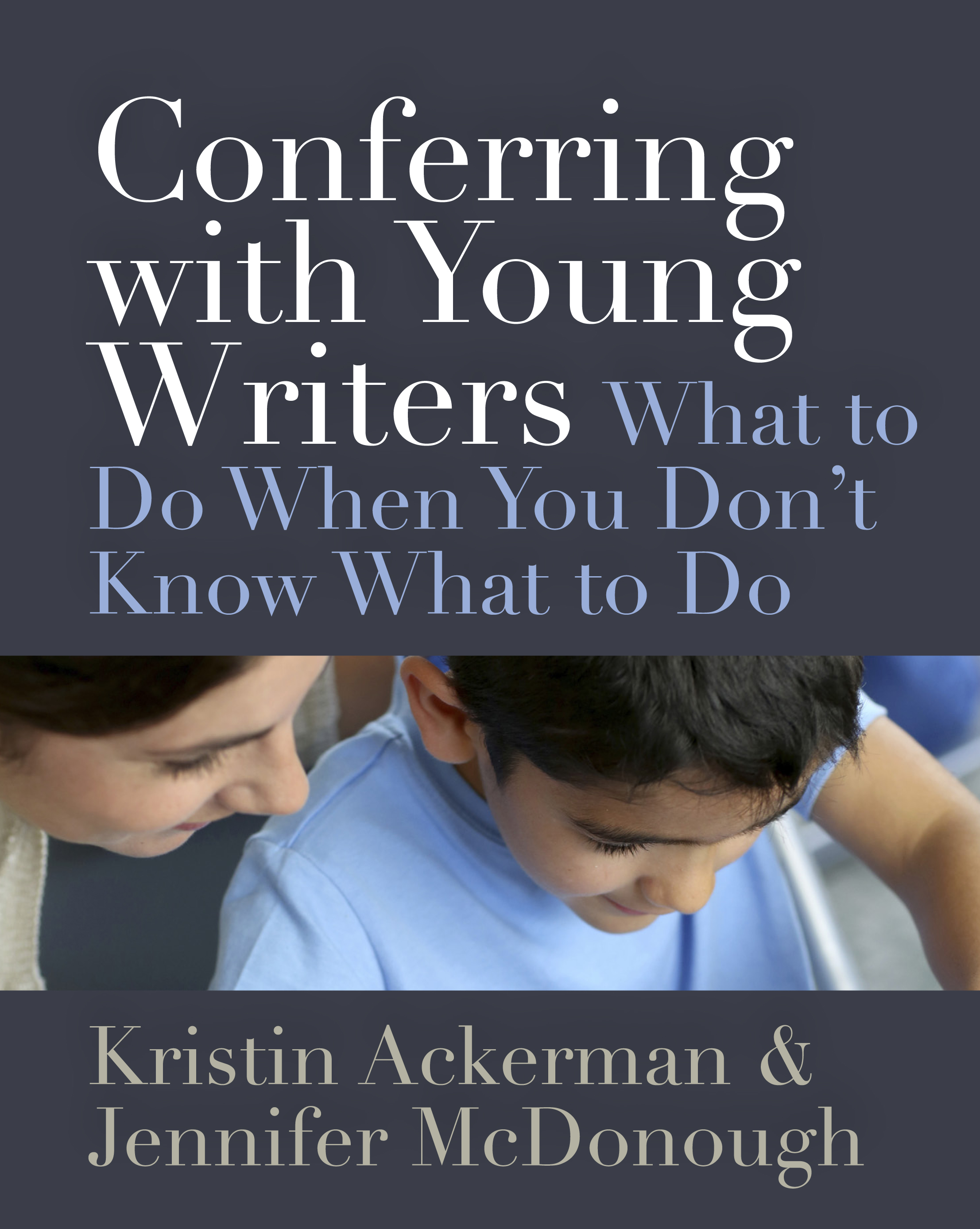 conferring with young writers stenhouse publishers
