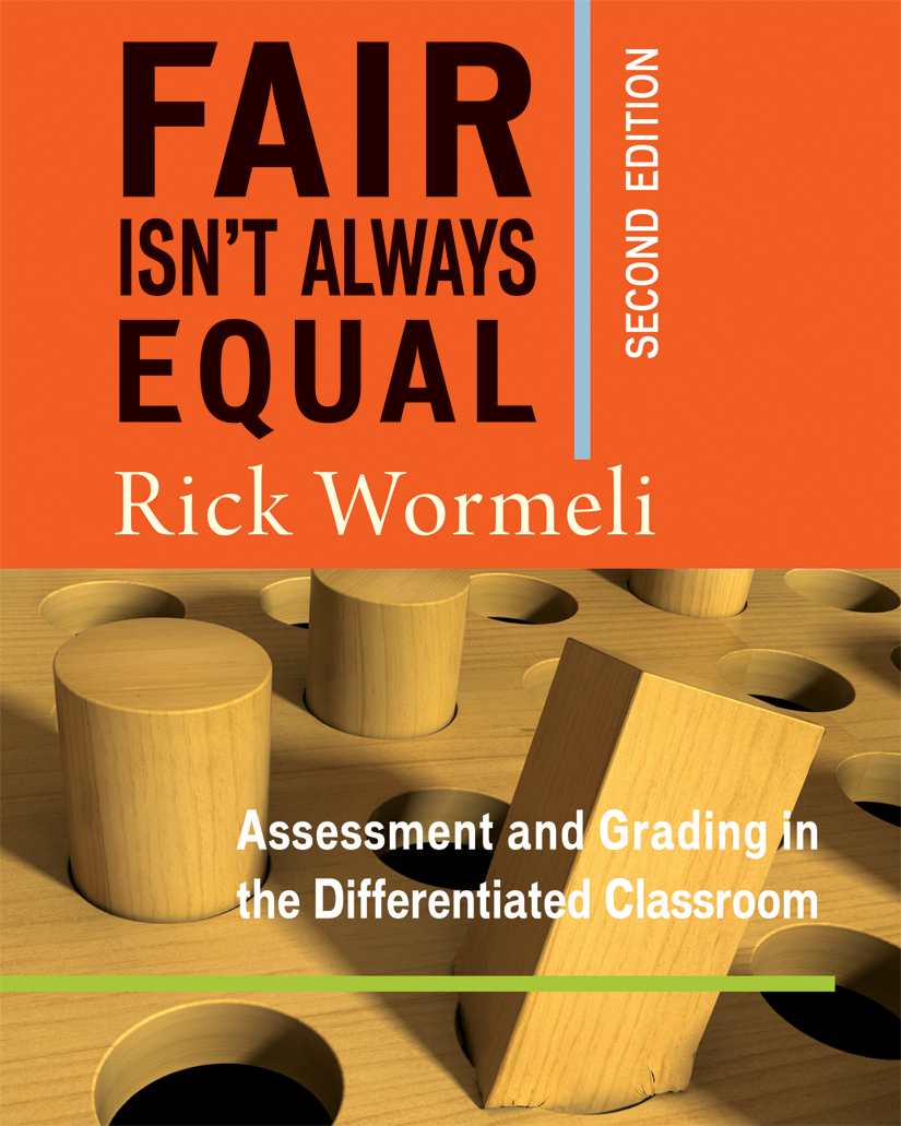 Fair Isnt Always Equal 2nd Edition Stenhouse Publishers