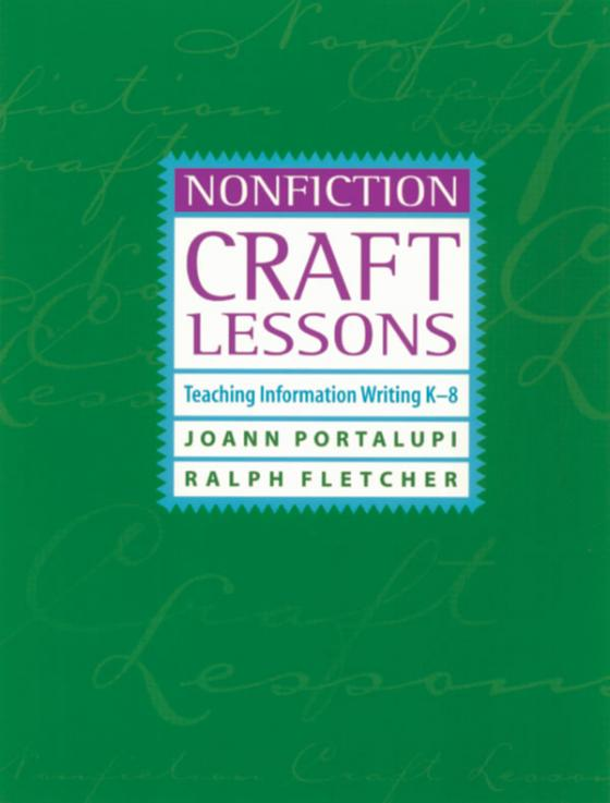 Nonfiction Craft Lessons